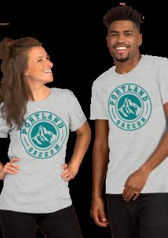 Portland Oregon Classic Teal – T Shirt