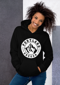 Portland Oregon Traditional - Hoodie