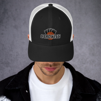 CARD KING CLASSIC - RETRO TRUCKER HAT