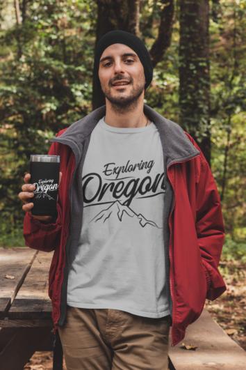 Exploring Oregon - T Shirt