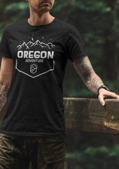 OREGON ADVENTURE - ECO - T SHIRT