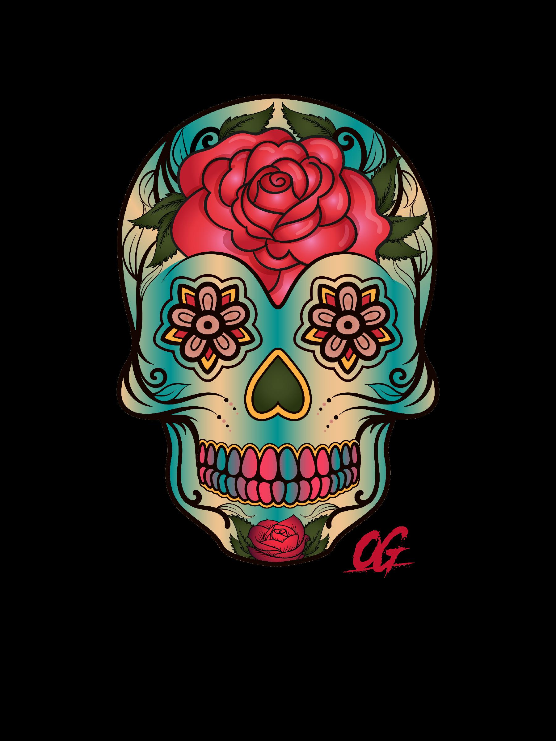 Sugar Skull - OG - T Shirt