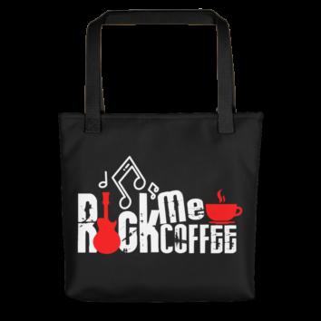 ROCK ME COFFEE - TOTE BAG