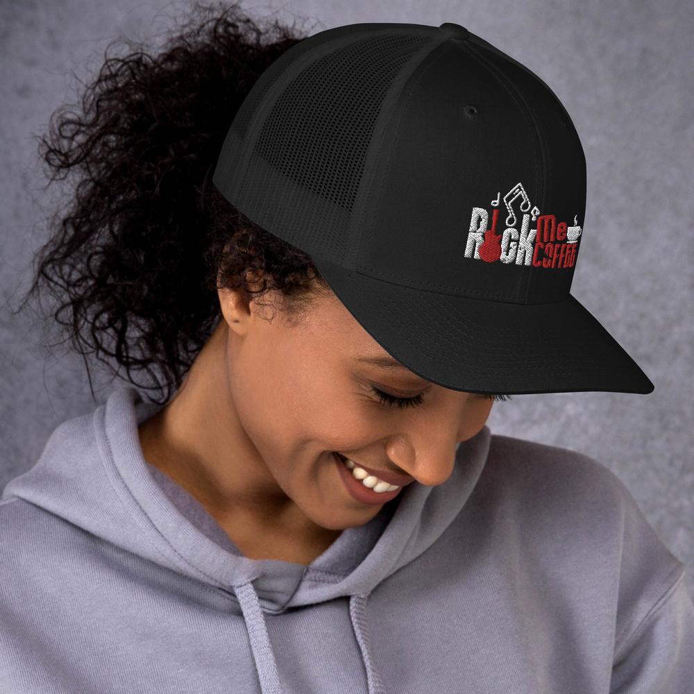 ROCK ME COFFEE - RETRO TRUCKER HAT
